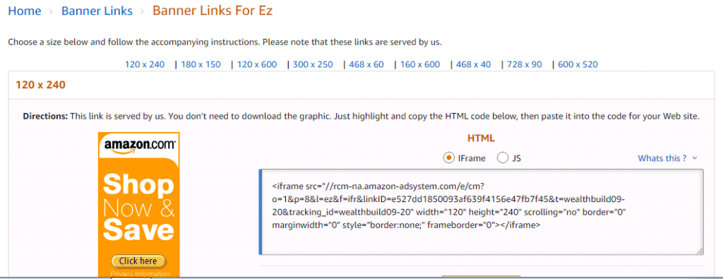 banners-1024x395 Amazon Affiliate Program Information Discussed In Detail