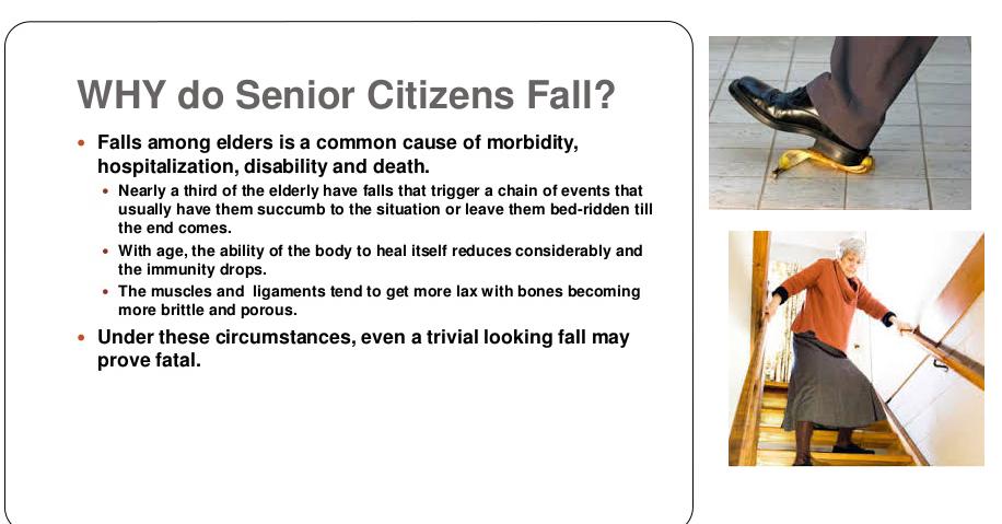 seniors fall