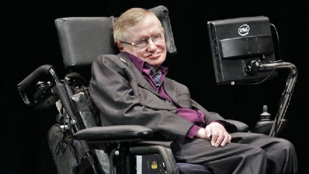 Stephen Hawking wheel chair