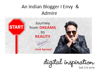 famous Indian blogger
