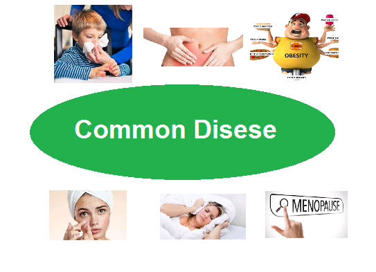 common diseases