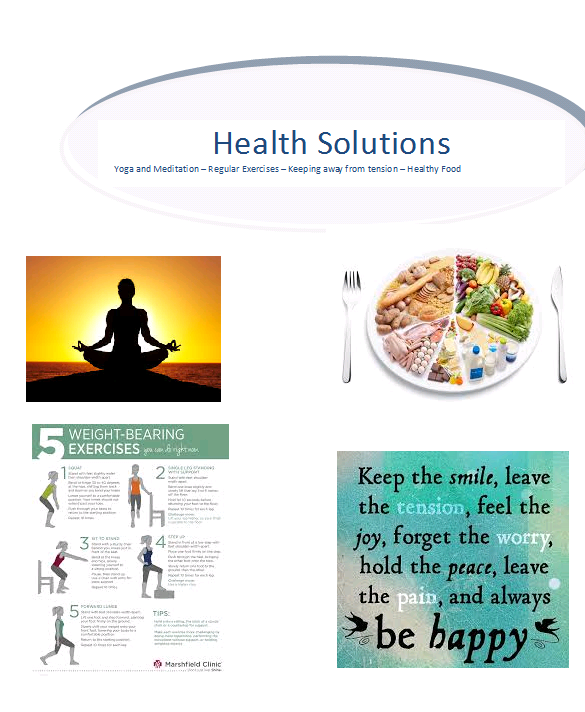 healthy living fundamentals - information providers
