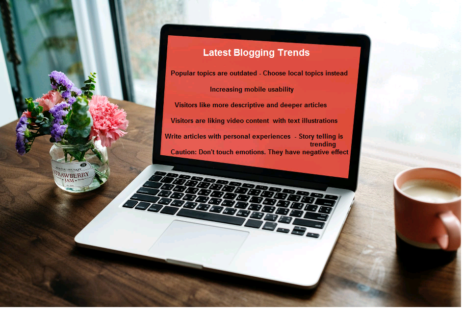 blogging tips and trends