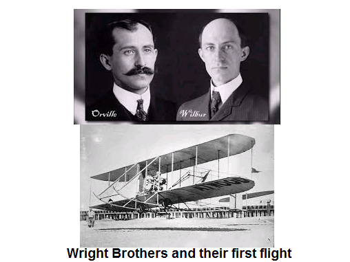 the first flight