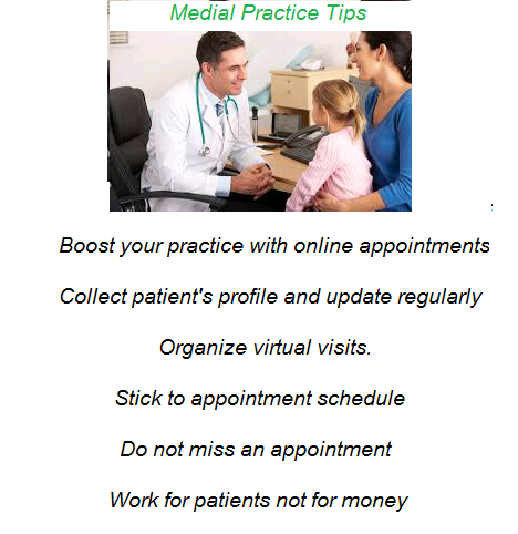 medical practice tips