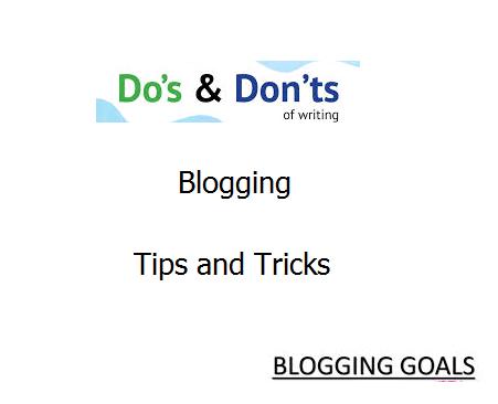 blogging tips information